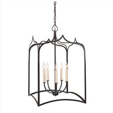 Gothic 5 Light Extra Large Foyer Pendant
