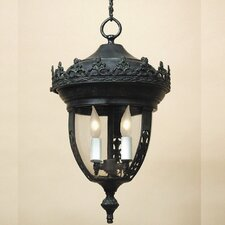 Small 2 Light Outdoor Hanging Lantern