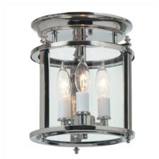 <strong>JVI Designs</strong> Murray Hill 3 Light Flush Mount