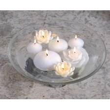 New Rose Floating Candles (Set of 12)