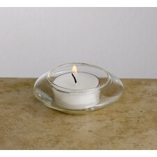 Floating Glass Tea Light Candle Holders (Set of 12)
