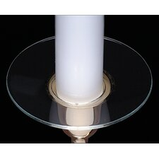 Glass Bobeche Candle Holder (Pack of 12)