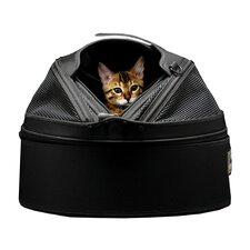 Mobile Pet Bed/Carrier in Jet Black