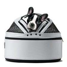 Mobile Pet Bed/Carrier in Arctic White