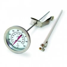 "<strong>CDN</strong> Insta-Read Long Stem 12"" Fry Thermometer"