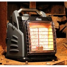 The Boss Portable 20,000 BTU Infrared Compact Propane Space Heater