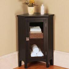 "<strong>Elegant Home Fashions</strong> Madison Avenue Dark 22.88"" x 32"" Corner Free Standing Cabinet"