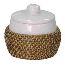 <strong>Elegant Home Fashions</strong> Hana Cotton Jar