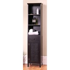 "<strong>Elegant Home Fashions</strong> Savannah 15"" x 65"" Linen Tower"