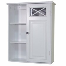 <strong>Elegant Home Fashions</strong> Dawson Wall Cabinet with Single Door and Shelves