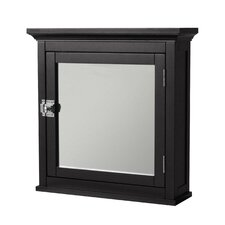 "Madison Avenue Dark 18.25"" x 18.5"" Surface Mount Medicine Cabinet"