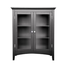 Madison Avenue Dark Double Floor Cabinet