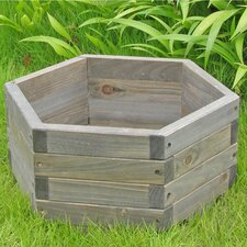 <strong>Elegant Home Fashions</strong> Hexagon Garden Barrel Planter