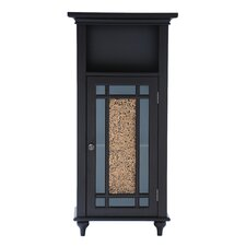 <strong>Elegant Home Fashions</strong> Windsor Floor Cabinet 1 Door and 1 Open Shelf