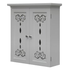 "<strong>Elegant Home Fashions</strong> Dallia 22.5"" X 25"" Wall Mounted Cabinet"