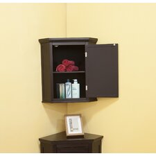 Slone Corner Wall Cabinet with  Door