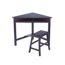 <strong>Elegant Home Fashions</strong> Pam Corner Desk Set