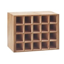 <strong>Corndell Furniture</strong> Radleigh Oak Wine Rack RMK122