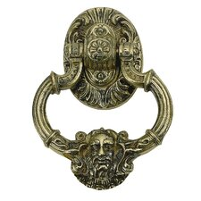 "<strong>BRASS Accents</strong> Neptune 7.375""Door Knocke"