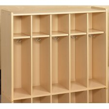2000 Series 5 Cubbie Toddler Locker