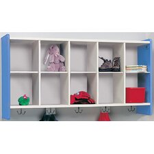 1000 Series 10-Cubbie Wall Storage
