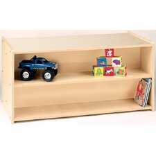 2000 Series Toddler Double-Sided Shelf Storage
