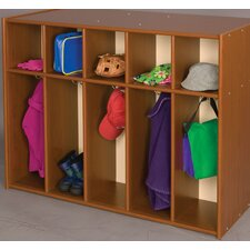 Vos System 5 Section Single Sided Toddler Locker