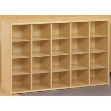 Eco Preschool Sectional  20 Compartment Cubby