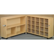 Eco Preschool Fold-n-Roll  23 Compartment Cubby