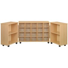 Eco Preschool 24 Compartment Cubby
