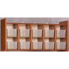 Eco  Diaper Wall Storage 10 Compartment Cubby