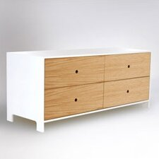 Parker Four-Drawer Low Dresser