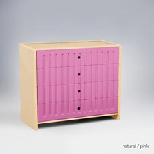 Alex 4 Drawer Dresser