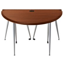 iFlex Large Half-Round Table