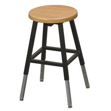 Lab Adjustable Height Bar Stool