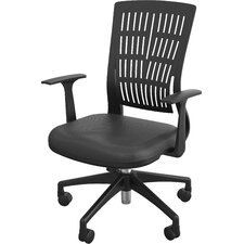Fly Mid Back Office Chair with Arms