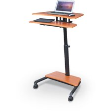 Up-Rite Workstation with Sit/Stand Desk