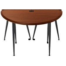iFlex Modular Small Half-Round Utility Table