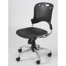 <strong>Balt</strong> Circulation Mid-Back Task Chair with Arms