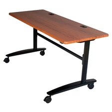"Cherry Lumina 72"" Flip Top Table"