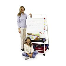 Teacher's Learning Center, Magnetic Dry-Erase Surface, 4 Tubs