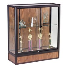 "Display Cases, Counter Height, 36""x14""x40"", Oak"