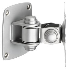<strong>Balt</strong> Low Profile Wall Mount for Flat Panel Monitor in Silver