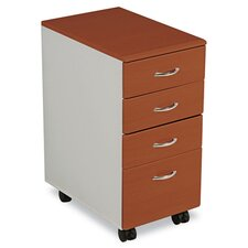 <strong>Balt</strong> IFlex Series File Cabinet in Cherry