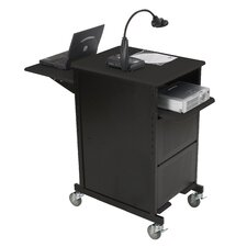 Extra Wide Presentation Cart