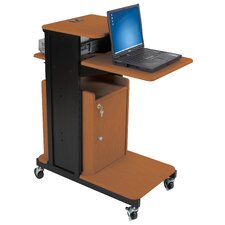 Locking Cabinet for Extra Long Presentation Cart