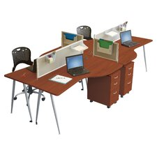 iFlex Open Office Modular Desking
