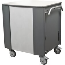 32-Compartment Syncing and Charging Cart