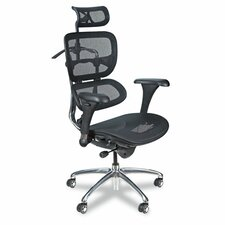 HIgh-Back Mesh Executive Chair with Arms