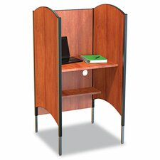 <strong>Balt</strong> High-Pressure Laminate Study Carrel Desk